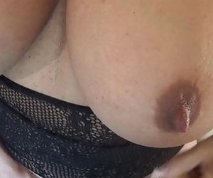 Latina Meaty Tit Solo with Dirty Talk